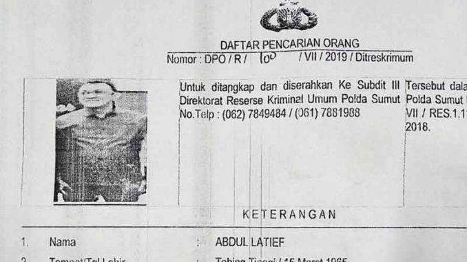Dpo Poldasu Kasus Penipuan Bos Lj Hotel Medan Diminta Segera